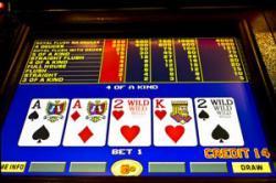 jeu de vidéo poker