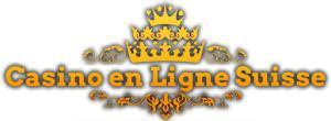 casino en ligne suisse typo logo