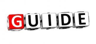 Guide typo logo